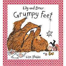 Buy Lily and Bear Grumpy Feet Children's Book Online at johnlewis.com