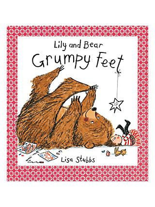Lily and Bear Grumpy Feet Children's Book