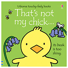 Buy Touchy-Feely That's Not My Chick Children's Board Book Online at johnlewis.com