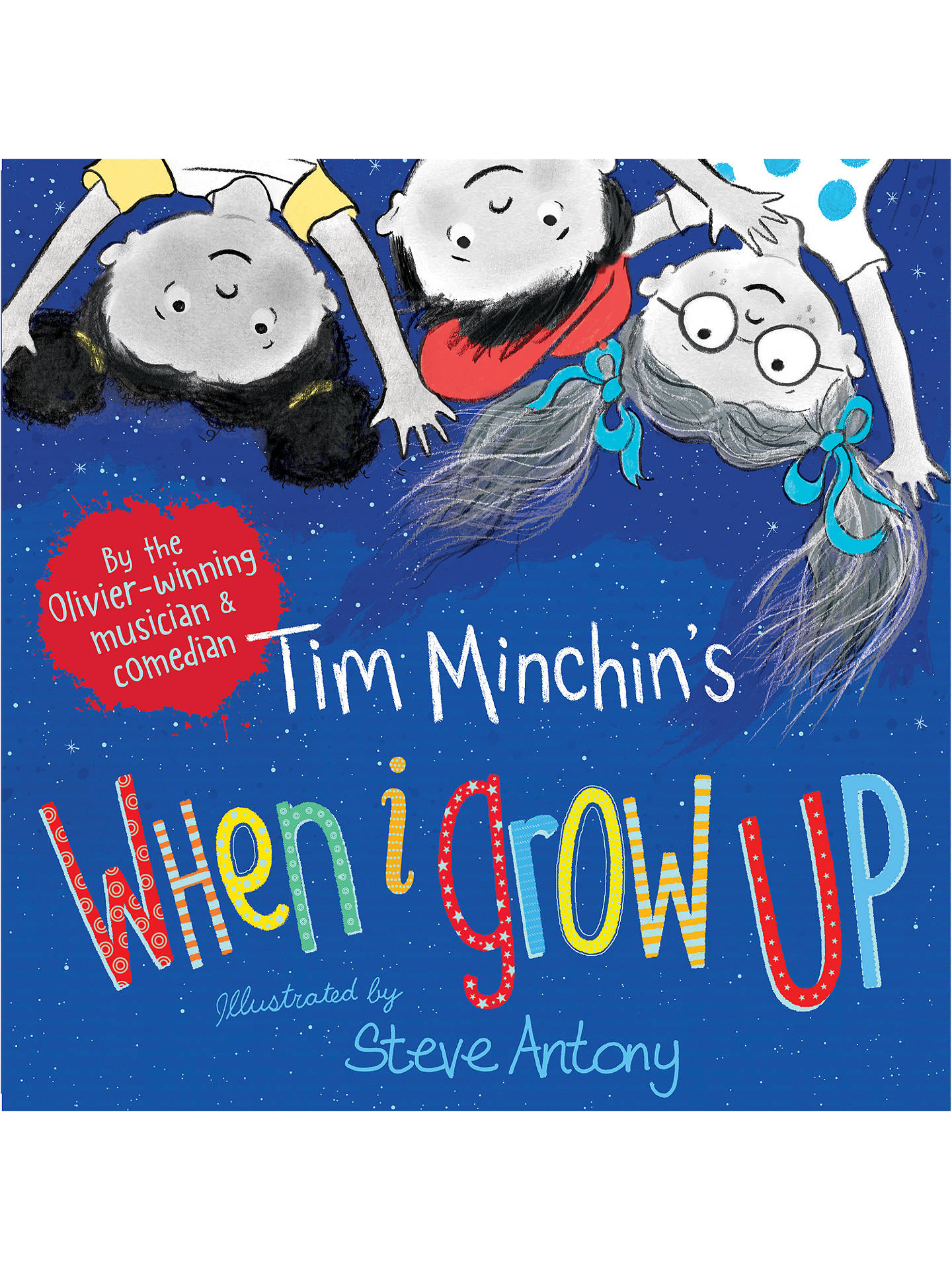 BuyTim Minchin's When I Grow Up Children's Book Online at johnlewis.com
