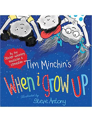 Tim Minchin's When I Grow Up Children's Book