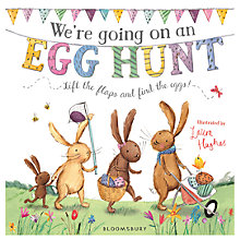 Buy We're Going On An Egg Hunt Children's Board Book Online at johnlewis.com