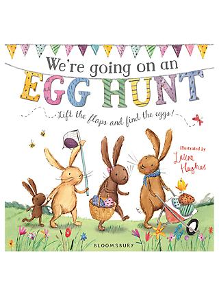 We're Going On An Egg Hunt Children's Board Book