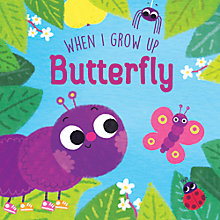 Buy When I Grow Up Butterfly Children's Book Online at johnlewis.com