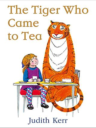 The Tiger Who Came To Tea 50th Anniversary Edition Children's Book