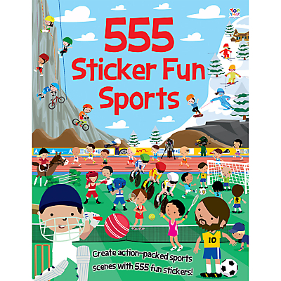 Image of 555 Sticker Fun Sports