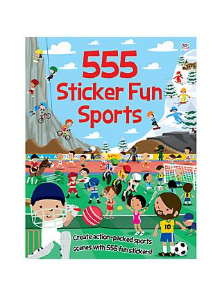 555 Sticker Fun Sports