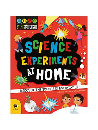 STEM Starters Science Experiments At Home Children's Book