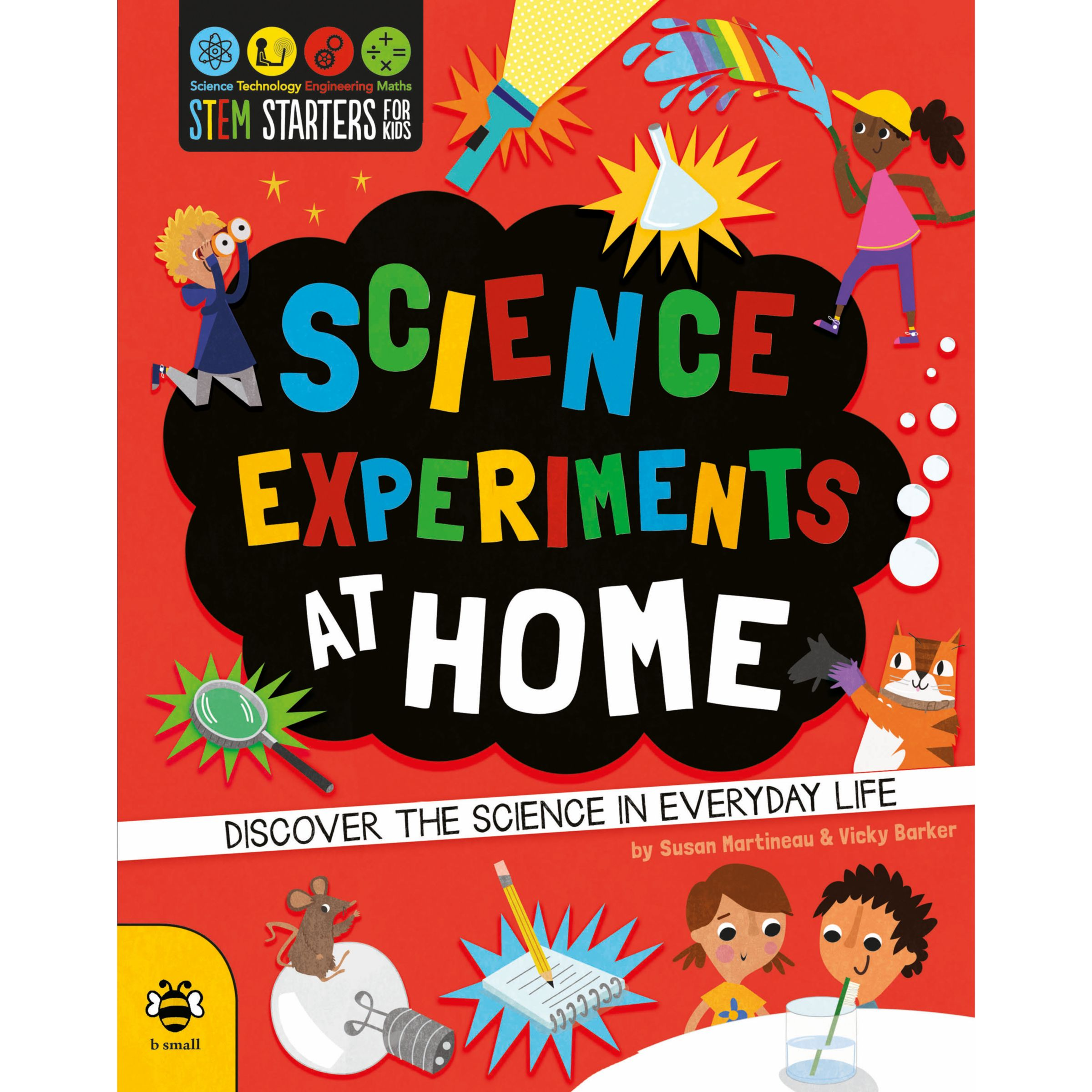 Children's Books STEM Starters Science Experiments At Home Children's Book