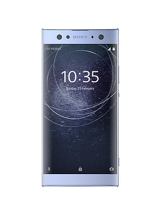 "Buy Sony Xperia XA2 Ultra Smartphone, Android, 6"", 4G LTE, SIM Free, 32GB, Blue Online at johnlewis.com"