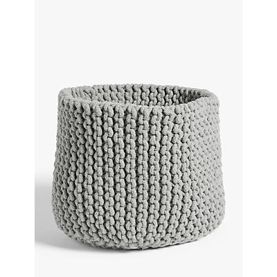 Croft Collection Chunky Knit Storage Basket