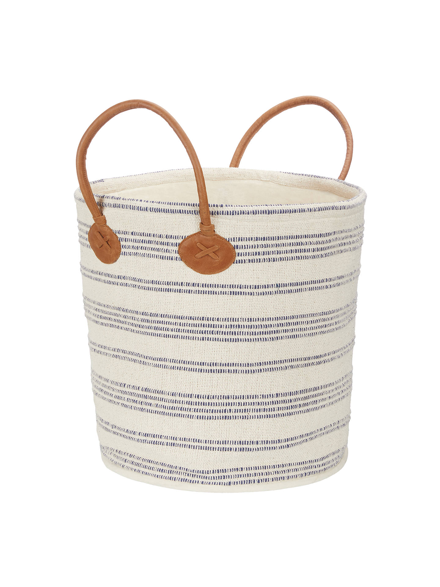 BuyJohn Lewis & Partners Coastal Cotton Storage Tote Online at johnlewis.com
