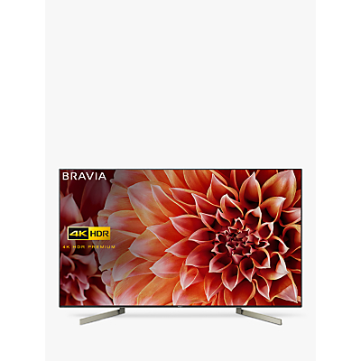 Sony Bravia KD49XF9005 LED HDR 4K Ultra HD Smart Android TV, 49 with Freeview HD & Youview, Black