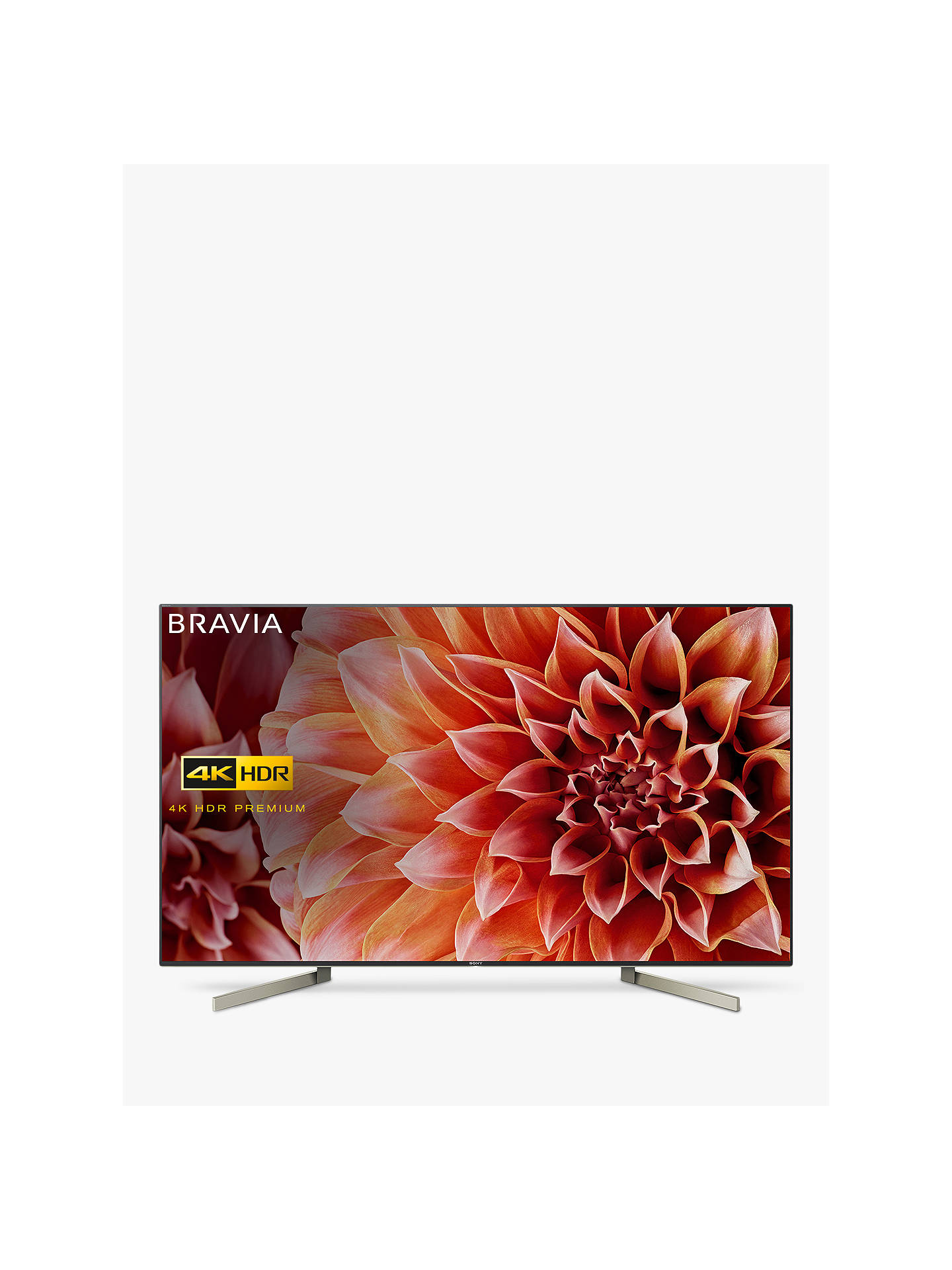 Sony Bravia KD49XF9005 LED HDR 4K Ultra HD Smart Android TV, 49