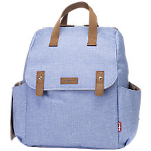 Buy Babymel Robyn Convertible Backpack, Bluebell Online at johnlewis.com