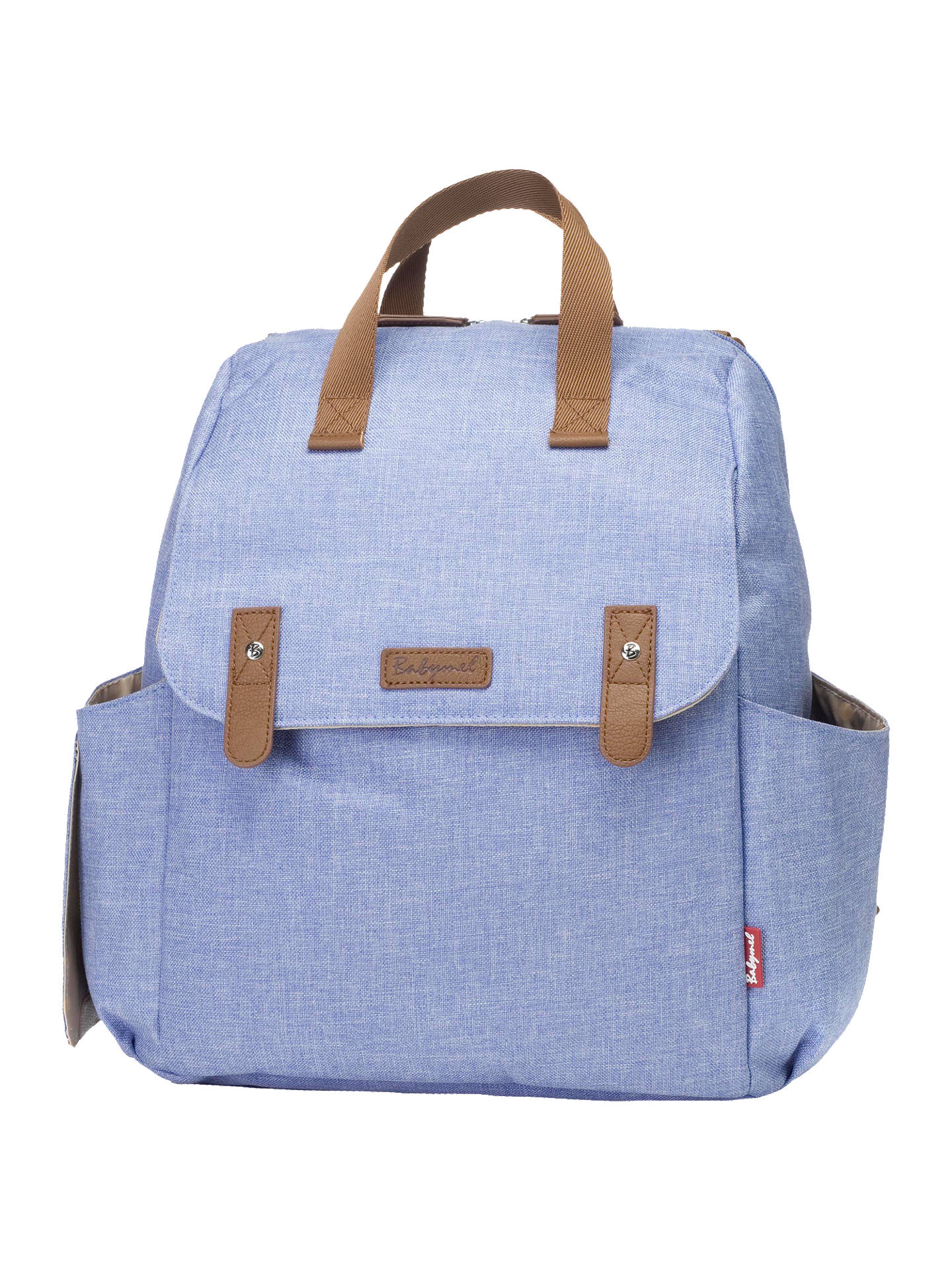 9fc089137538e Buy Babymel Robyn Convertible Backpack, Bluebell Online at johnlewis.com ...