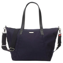 Buy Storksak Noa Luxe Changing Bag, Midnight Blue Online at johnlewis.com