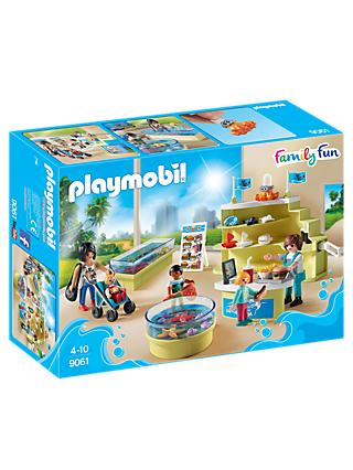 Playmobil Aquarium 9061 Aquarium Shop Set