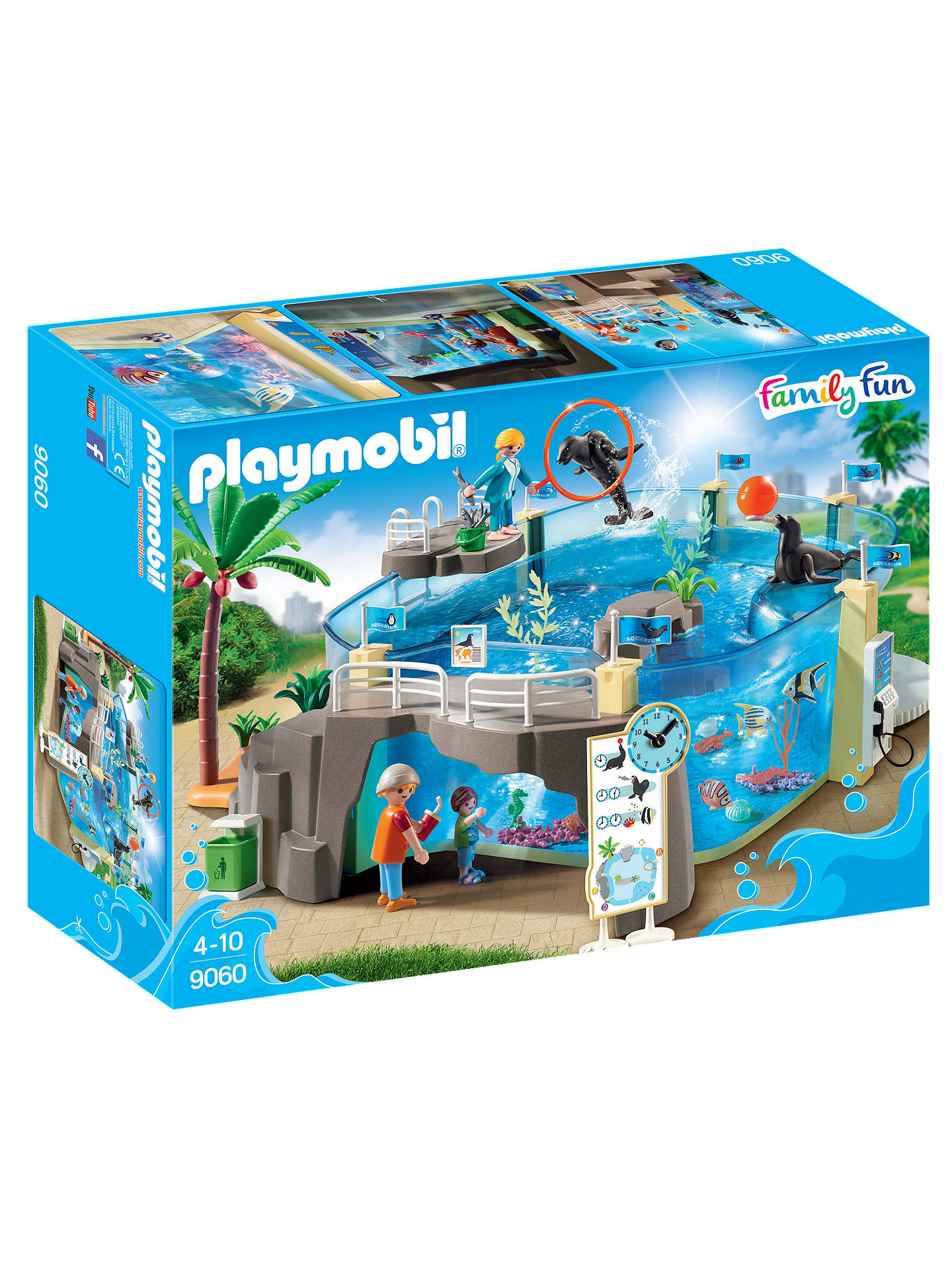 BuyPlaymobil Aquarium 9060 Aquarium Play Set Online at johnlewis.com
