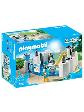 Playmobil Aquarium 9062 Penguin Enclosure Set