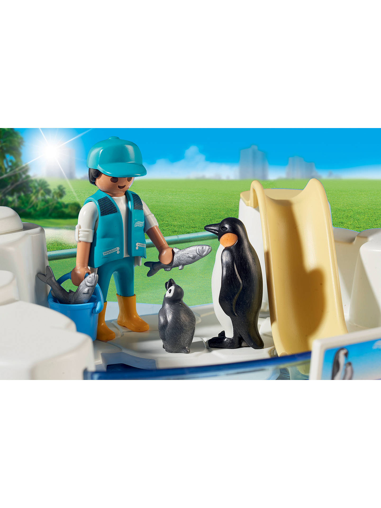 Buy Playmobil Aquarium 9062 Penguin Enclosure Set Online at johnlewis.com