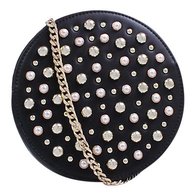 Carvela Alabaster Handbag, Black
