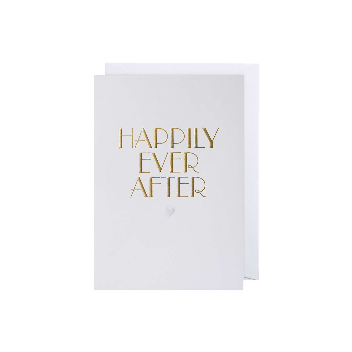 Lagom Designs Happily Ever After Wedding Card at John Lewis