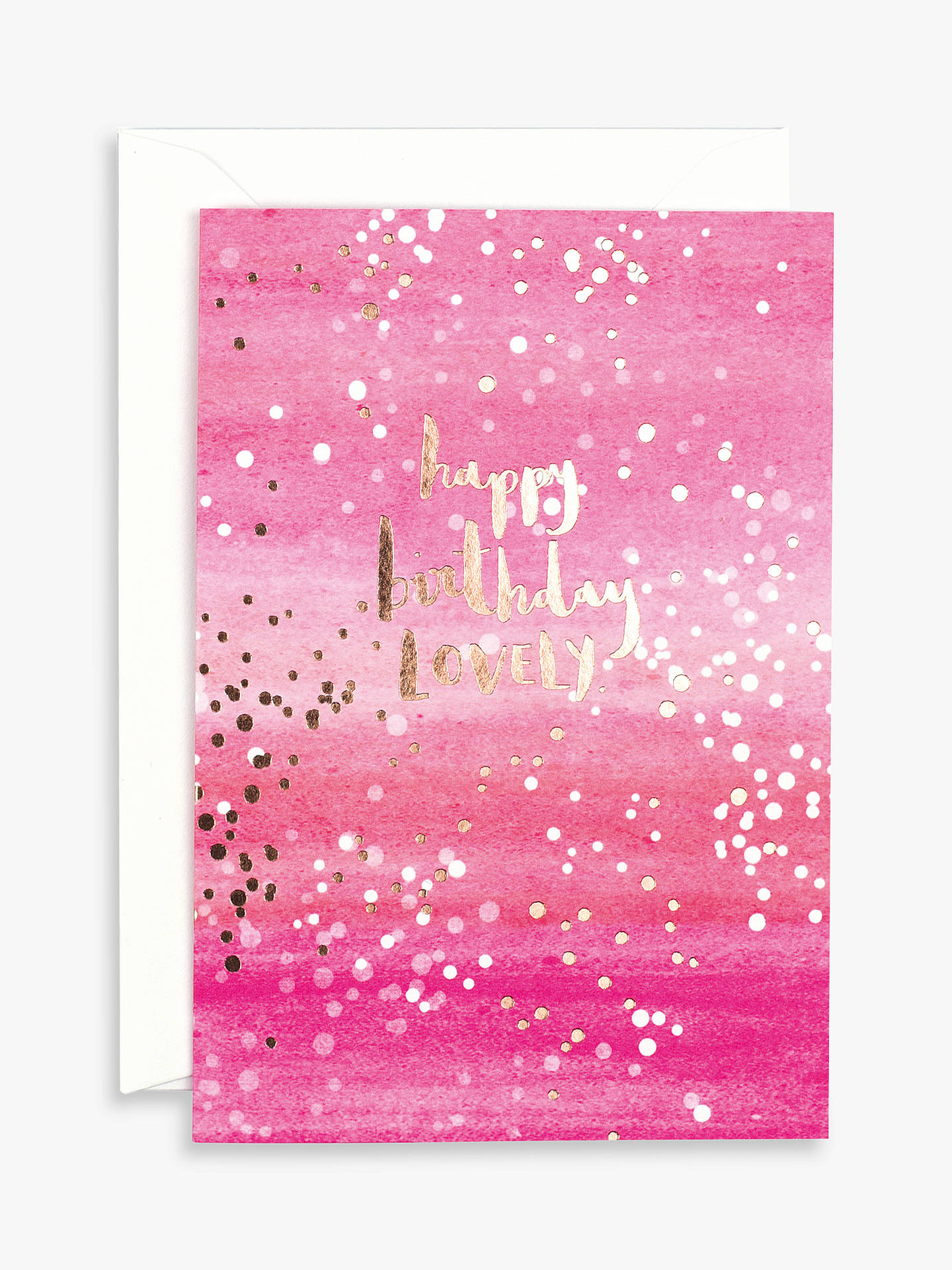 Carte blanche happy birthday lovely card at john lewis partners buycarte blanche happy birthday lovely card online at johnlewis m4hsunfo