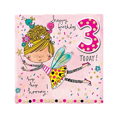 Image of Rachel Ellen 3rd Fairy Birthday Card