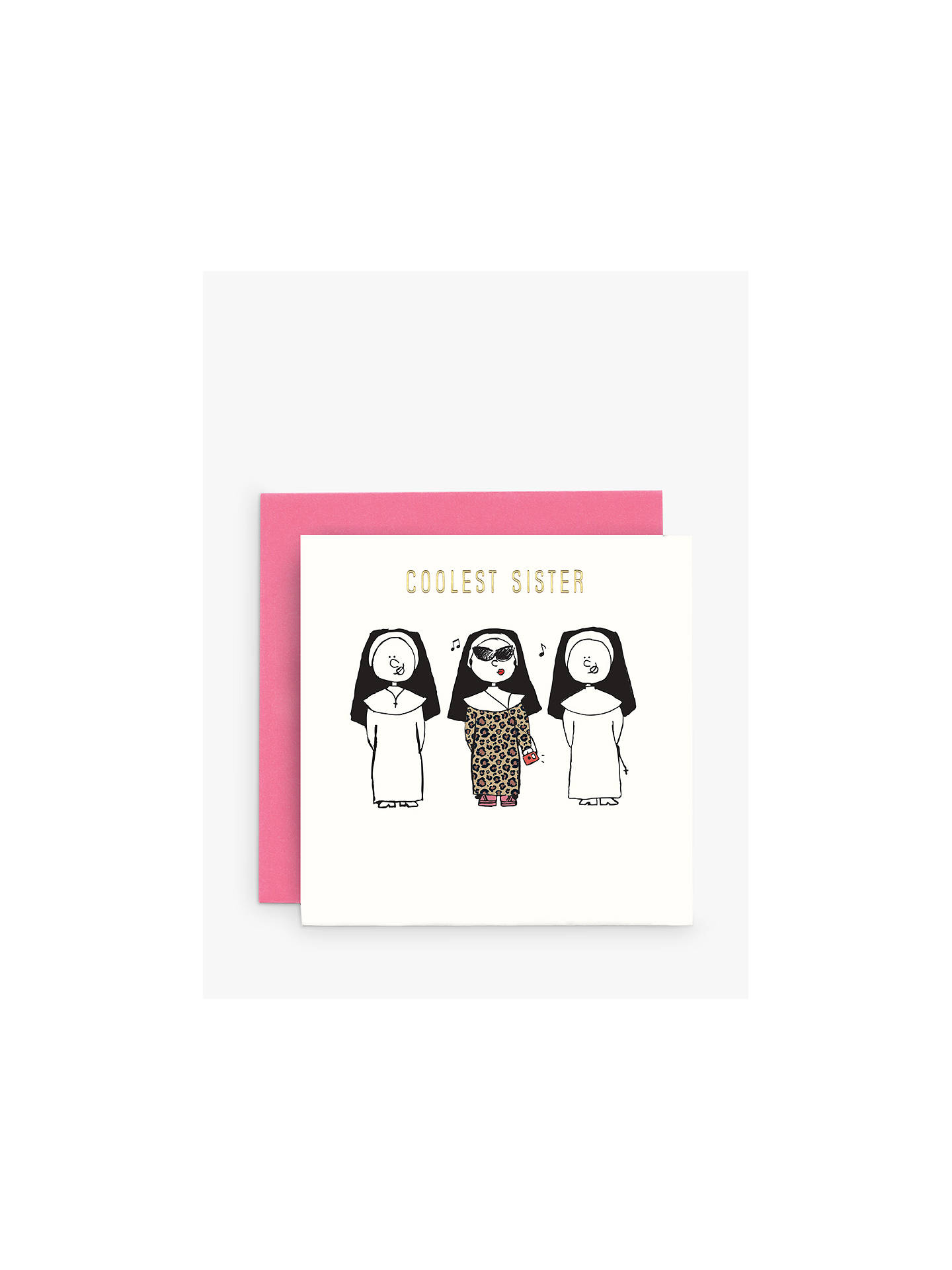 Buy Susan OHanlon Coolest Sister Birthday Card Online At Johnlewis