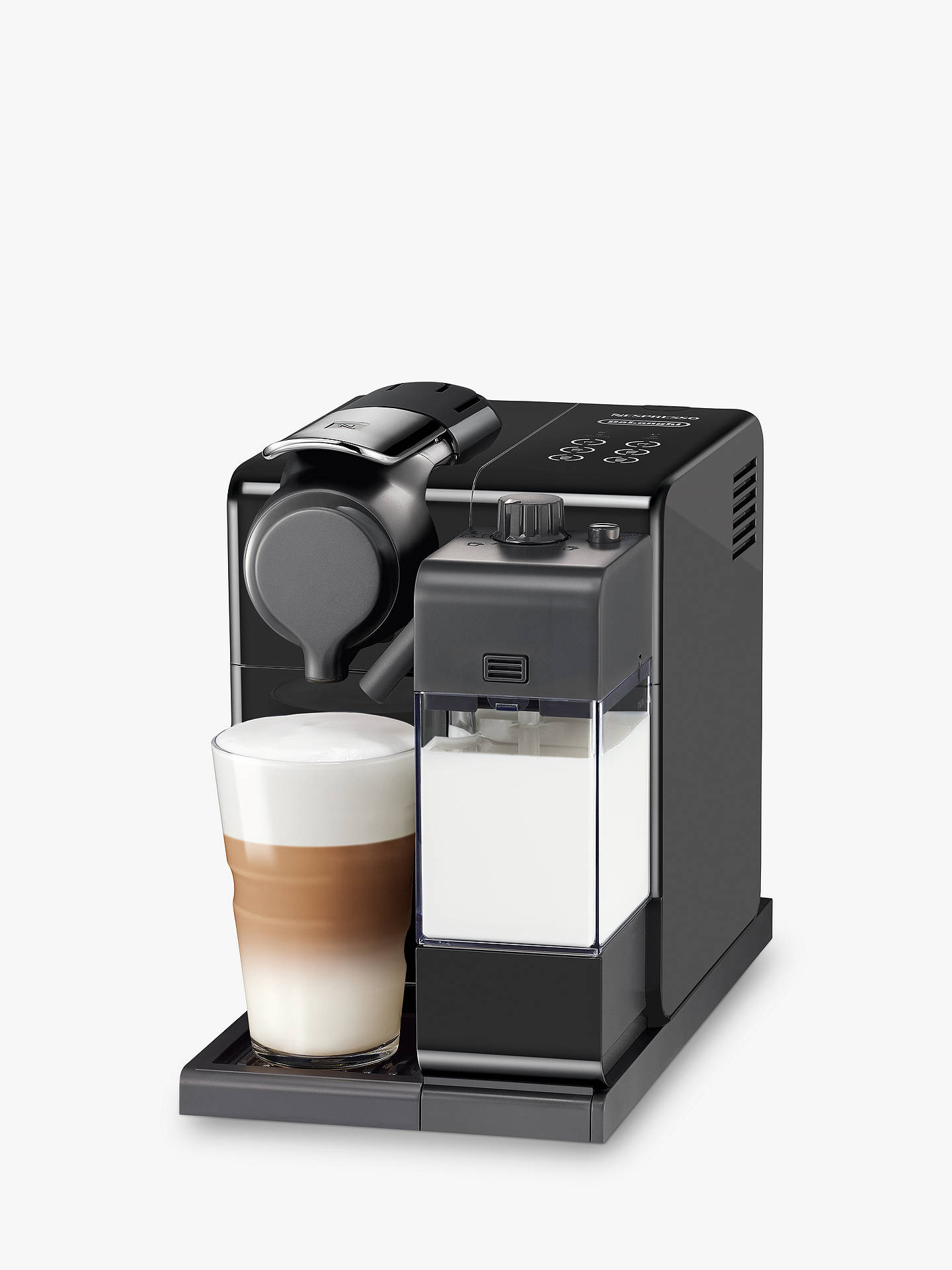 nespresso lattissima touch coffee machine at john lewis partners. Black Bedroom Furniture Sets. Home Design Ideas