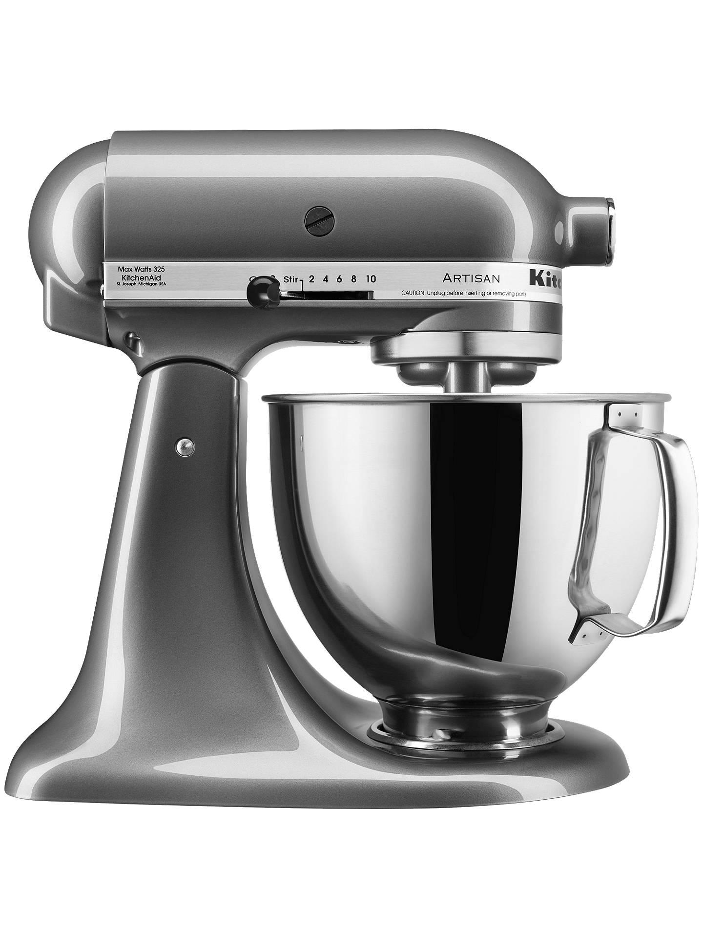 Kitchenaid 150 4 8l Stand Mixer Pearl Online At Johnlewis