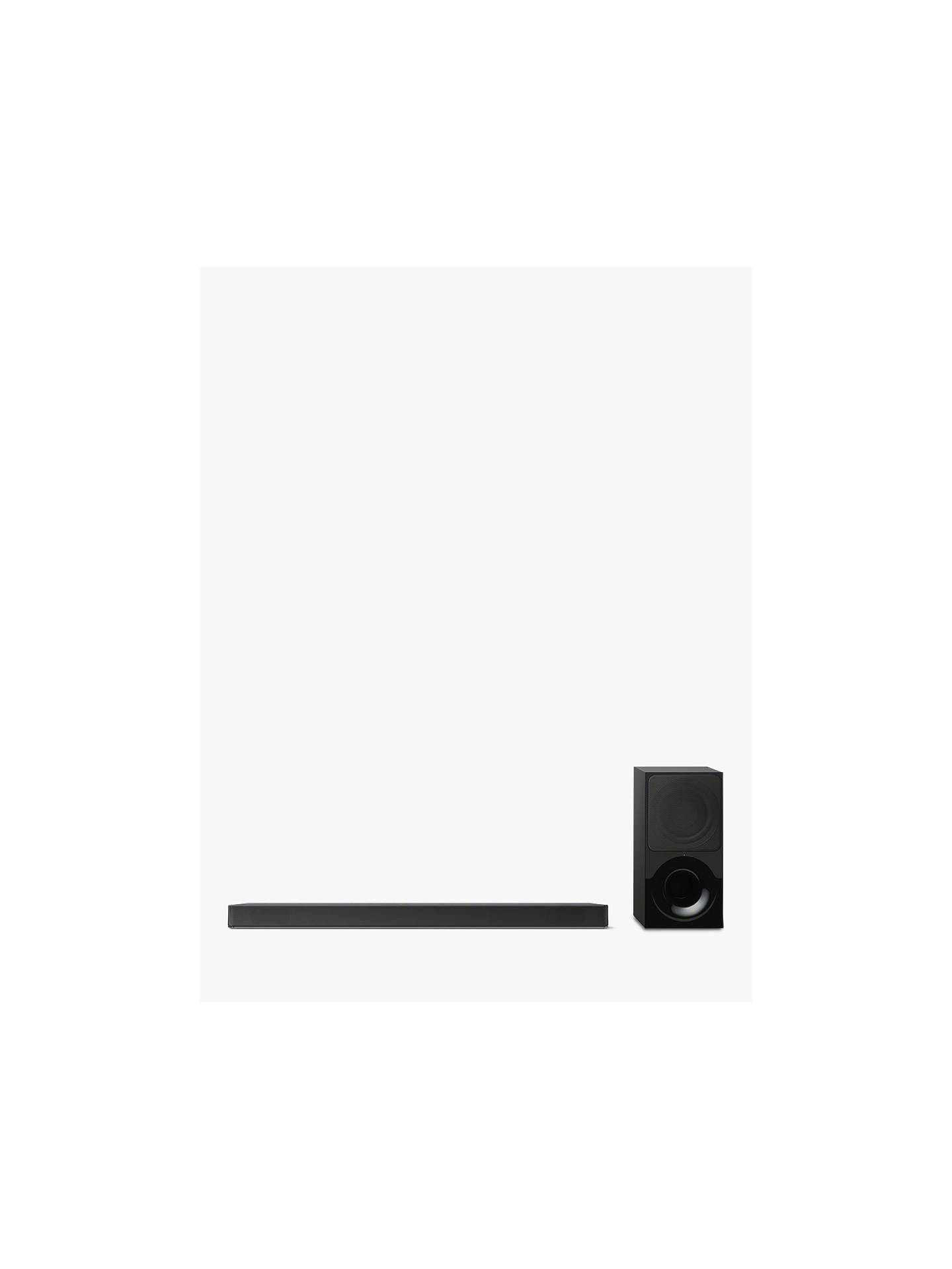 Sony HT-XF9000 Bluetooth Sound Bar with Dolby Atmos, Vertical Surround  Engine & Wireless Subwoofer