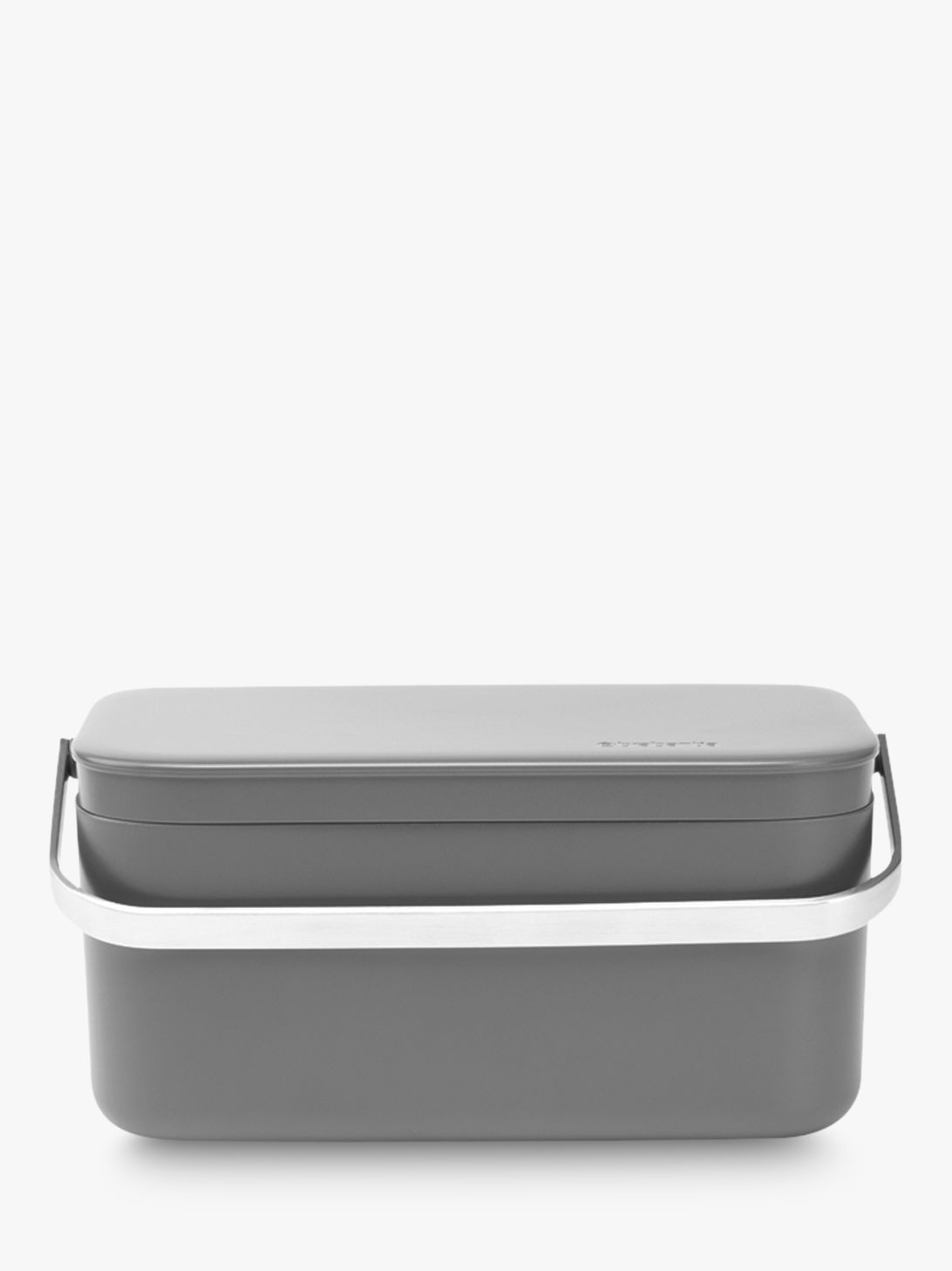 Brabantia Compost Food Waste Caddy Dark Grey at John Lewis