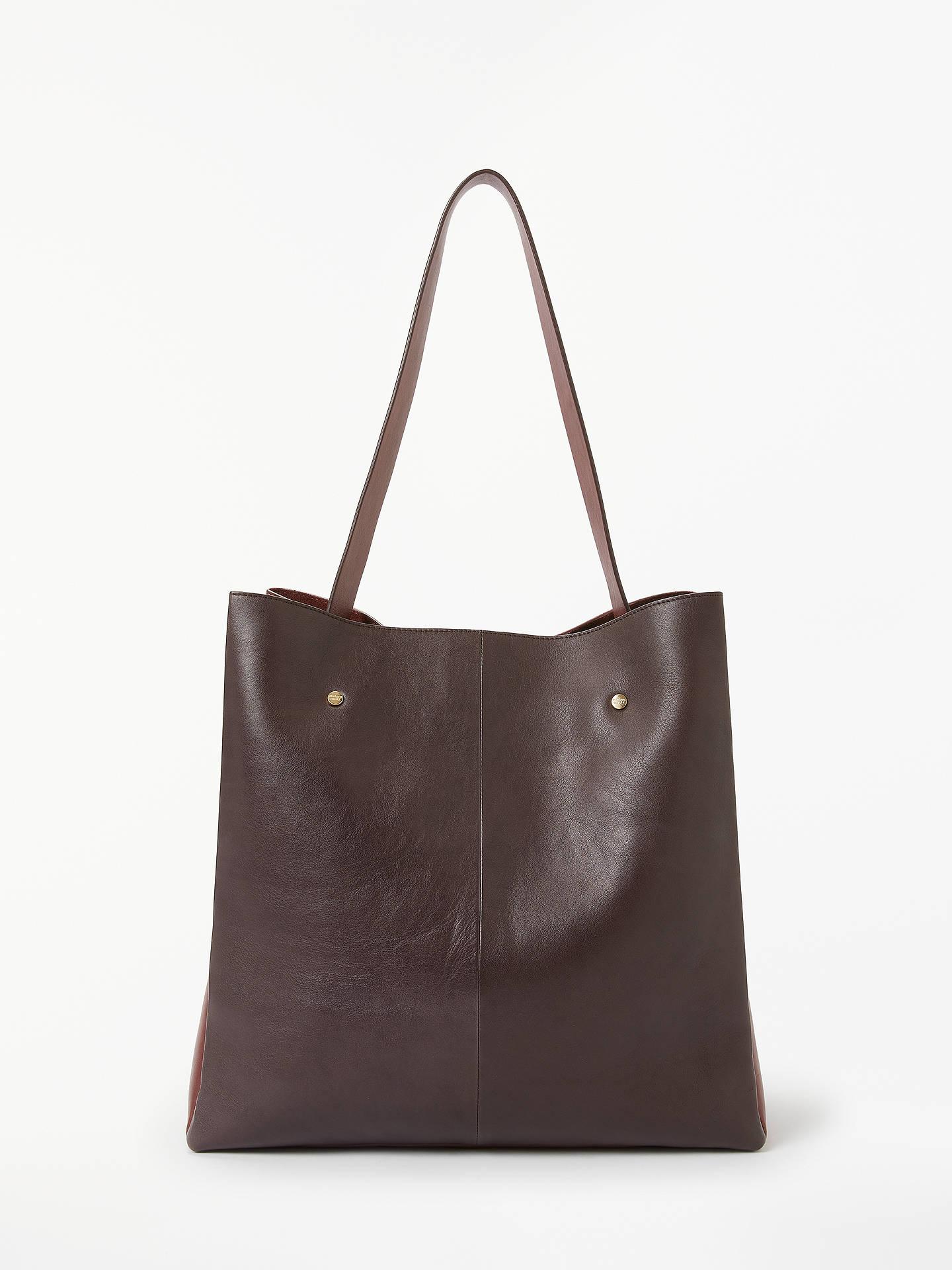8ec1d9c1ef Buy Modern Rarity Ribbon Leather Tote Bag
