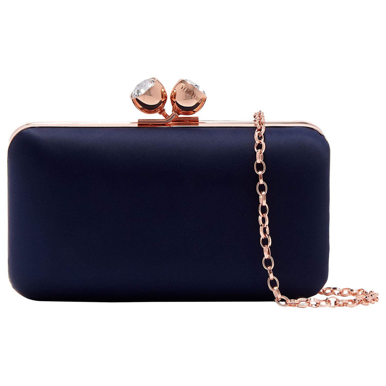 34a83bf9a4d978 Ted Baker Naomii Boxy Evening Clutch Bag at John Lewis   Partners