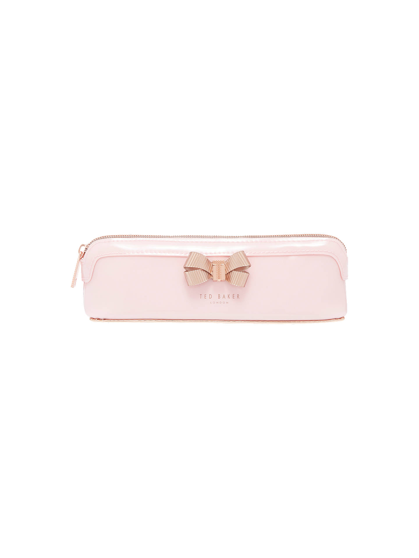 Ted Baker Lora Bow Pencil Case At John Lewis Amp Partners
