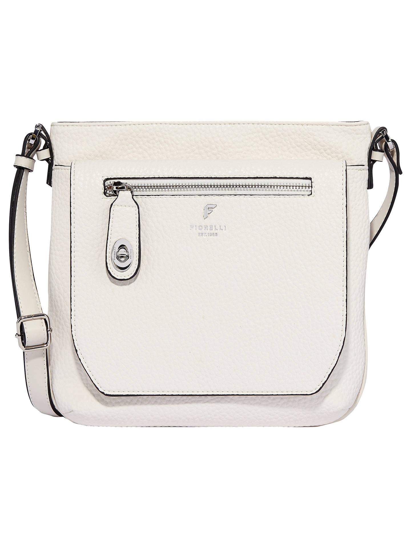 Fiorelli Jenson Cross Body Bag White Online At Johnlewis