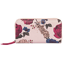 Buy Fiorelli Clemence Floral Large Zip Around Purse Online at johnlewis.com