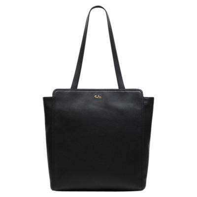 Tula Nappa Originals Leather Large Zip-Top Tote Bag