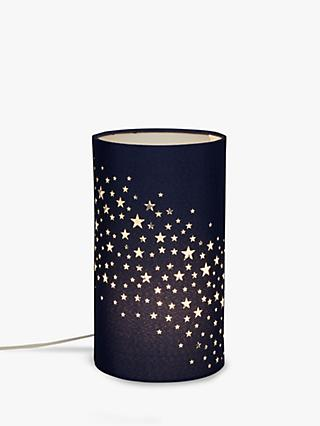 little home at John Lewis Stardust Table Lamp, Navy