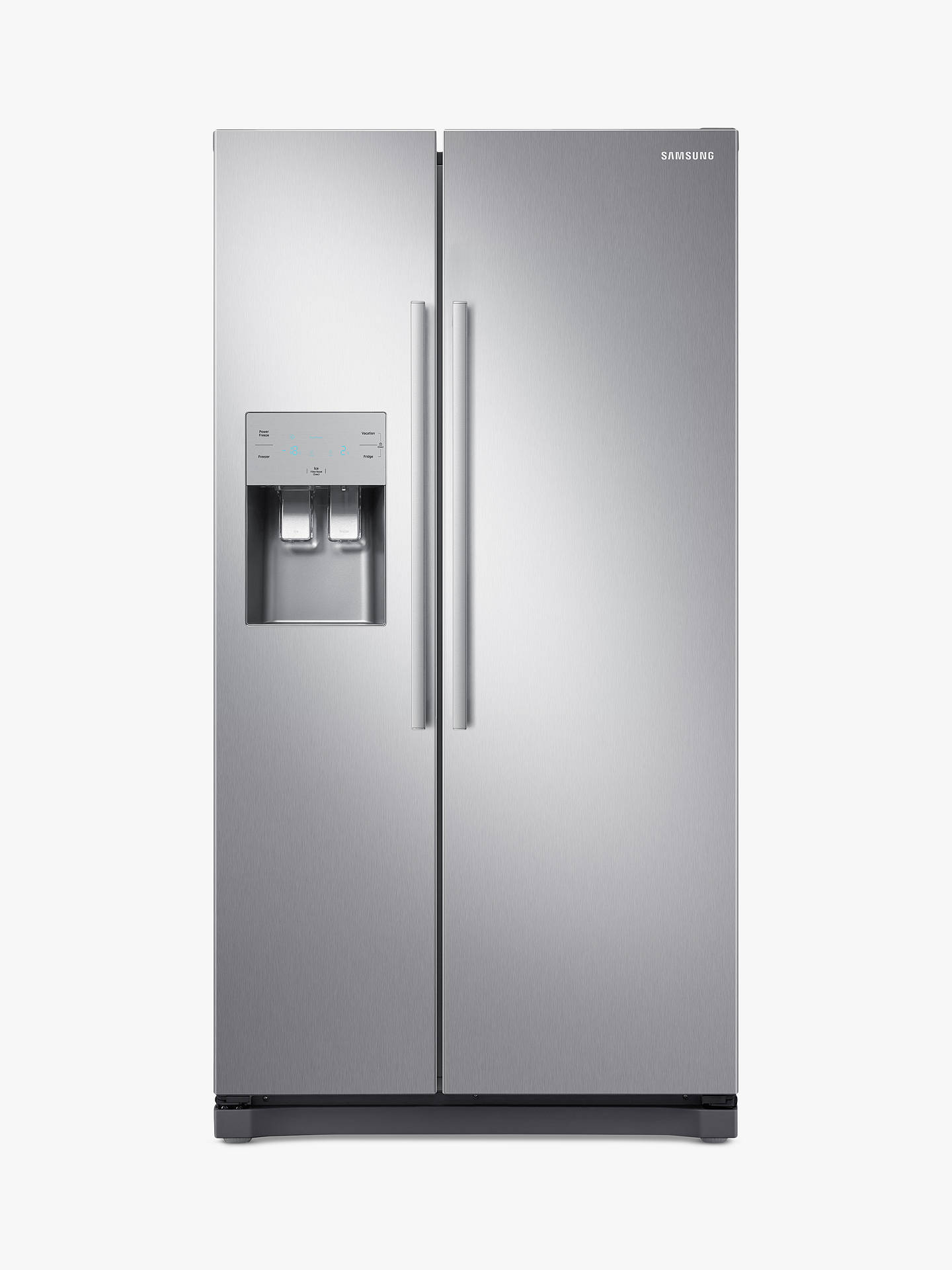 Samsung Rs50 N3513 Sl Freestanding American Style Fridge Freezer, A+ Energy Rating, 91cm Wide, Silver by Samsung