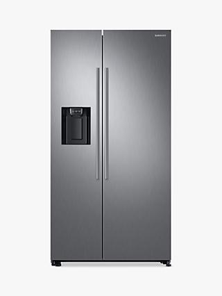 Samsung RS67N8210S9 American-Style Freestanding 65/35 Fridge Freezer, A+ Energy Rating, 91cm Wide, Stainless Steel