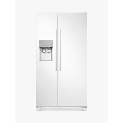 Samsung RS50N3513WW Freestanding American Style Fridge Freezer, A+ Energy Rating, 91cm Wide, White