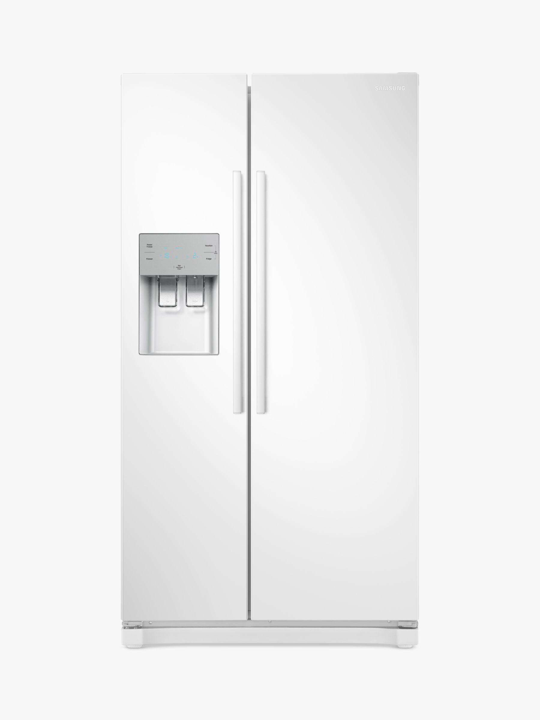 Samsung Samsung RS50N3513WW Freestanding American Style Fridge Freezer, A+ Energy Rating, 91cm Wide, White