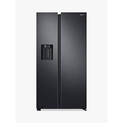 Samsung RS68N8240B1/EU Freestanding American Style Fridge Freezer, A+ Energy Rating, 91cm Wide, Black