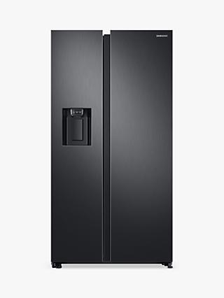 Samsung RS68N8240B1/EU American-Style Freestanding 65/35 Fridge Freezer, A+ Energy Rating, 91cm Wide, Black