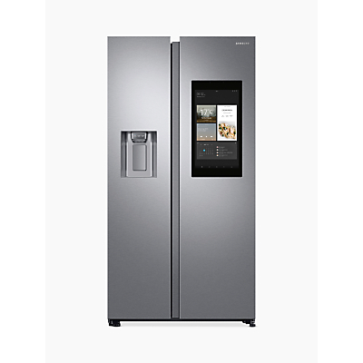 Samsung RS68N8941SL/EU Freestanding American Style Fridge Freezer, A++ Energy Rating, 91cm Wide, Silver