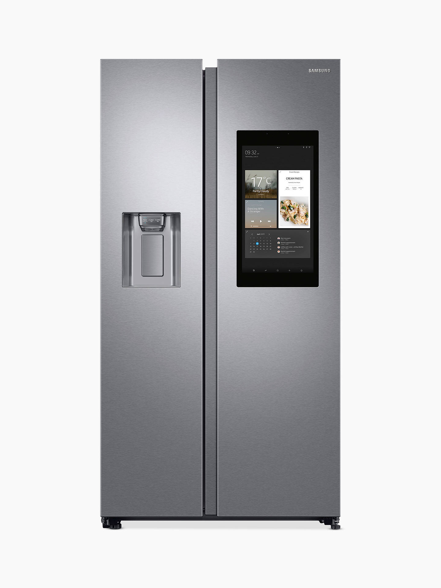 fcebc8d730b6 Buy Samsung RS68N8941SL/EU Freestanding American Style Fridge Freezer, A++  Energy Rating, 91cm ...