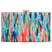 Buy Dune Brocco Clasp Clutch Bag, Multi Online at johnlewis.com